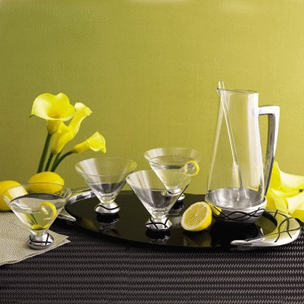 Vibe 7 - Piece Martini Set