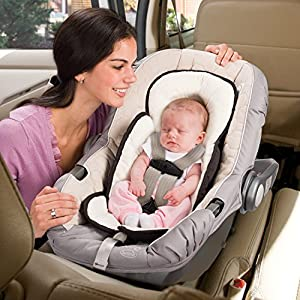 Summer Infant Snuzzler Infant Support for Car Seats and Strollers, Black Velboa