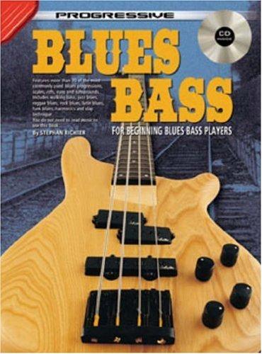 By Stephan Richter Progressive Blues Bass [Paperback] - Progressive Bass Blues