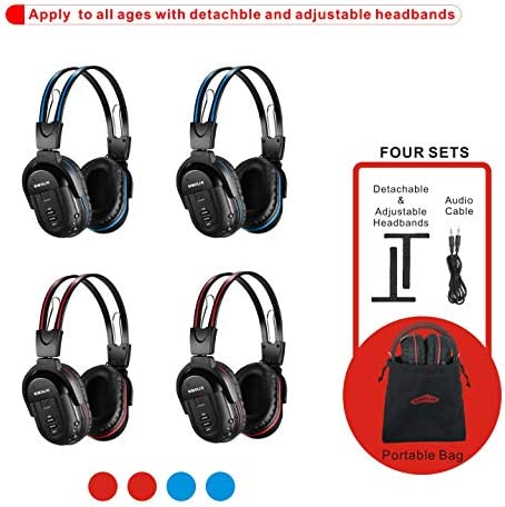Wireless Headphones Entertainment System Channel product image