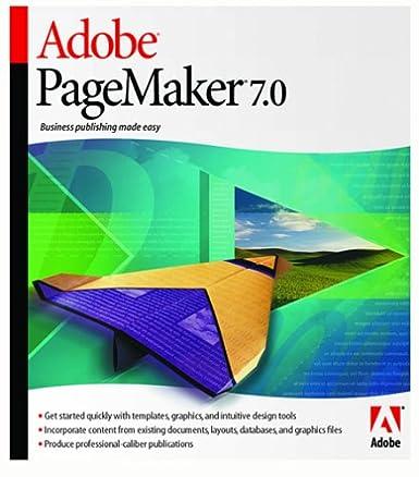 Amazon.com: Adobe PageMaker 7.0 [Old Version]: Software