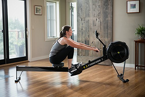 Rowing machine indoor rower. Concept2 Model D with PM5 Performance Monitor Indoor Rower Rowing Machine Black