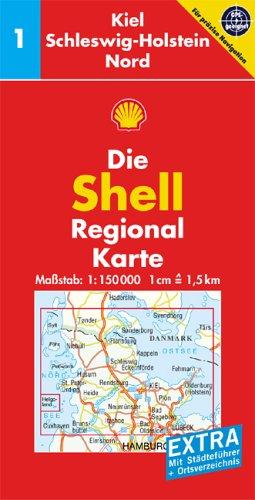 Kiel, Schleswig-Holstein Nord: 1:150000; GPS-geeignet