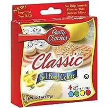 Betty Crocker Classic Gel Food Colors - 4 CT