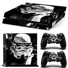 FriendlyTomato PS4 Console and DualShock 4 Controller Skin Set -Star Warrior - PlayStation 4 Vinyl