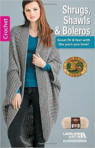 Shrugs Shawls And Boleros 75544 Lion Brand Yarn Company