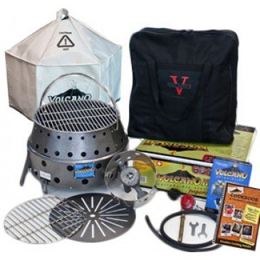 Volcano 2 Stove Collapsible – BUNDLE KIT, Outdoor Stuffs