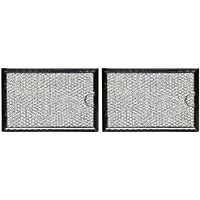 Replacement Microwave Grease Filter for GE WB06X10654 - by All-Filters Pack of 2