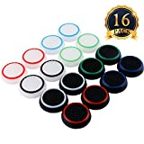 SUBANG Thumb Grip Analog Stick Caps Replacement For PS2 /PS3 /PS4 /Xbox 360 /Xbox One Silicone Noctilucent 8 Pairs 16 Pcs