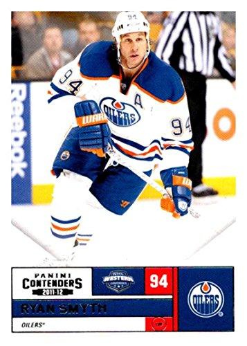 ((HCW) 2011-12 Playoff Contenders #94 Ryan Smyth Oilers NHL Mint Hockey)