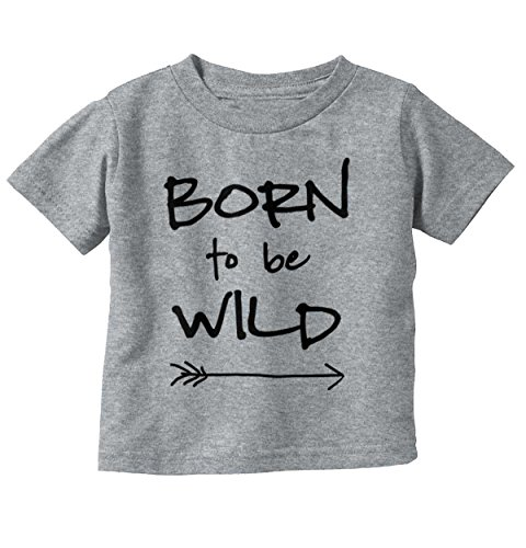 Brisco Brands Born To Be Wild Cute Baby Clothes | Newborn Gift Steppenwolf Toddler Infant - Top Steppenwolf Songs