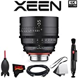 Rokinon Xeen 35mm T1.5 Lens for Canon EF Mount with Professional Accessory Kit