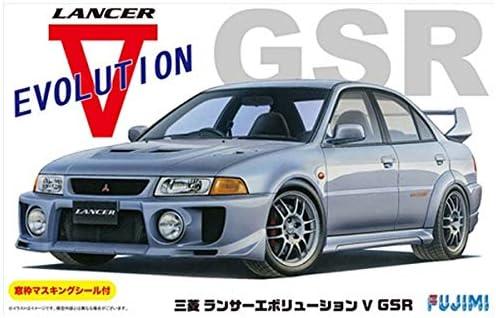 フジミ模型 1/24 インチアップシリーズ No.100 三菱 ランサーエボリューションV GSR プラモデル ID100