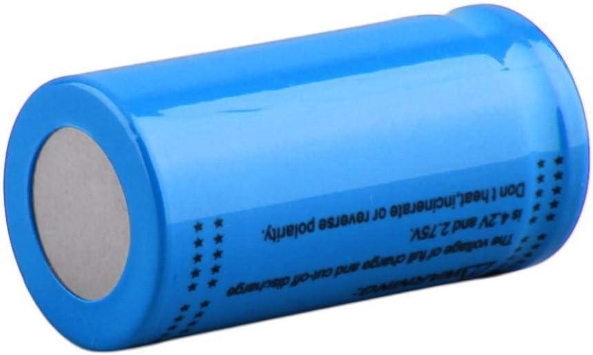 16340 3.7v 2800mah Rechargeable Lithium Battery LED Flashlight headlamp battery-6Pcs 2pcs