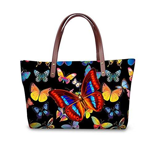 Top Purse Dfgcc3010al FancyPrint Foldable Handbags Bags Women Handle Fashion Satchel Wallets Cw7CqxtY4