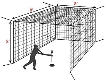Fortress Mini Baseball Hitting Cage Net Net World Sports