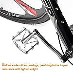 LERWAY-Pedali-per-Bicicletta-MTB-Pedali-Flat-Leggeri-Pedali-Bici-Corsa-Antiscivolo-Ibridi-per-Mountain-BikeBici-da-Strada-per-916con-Strumento-di-Installazione