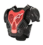 Bionic Off-Road Motorcycle Chest Protector (Medium/Large, Black Red)