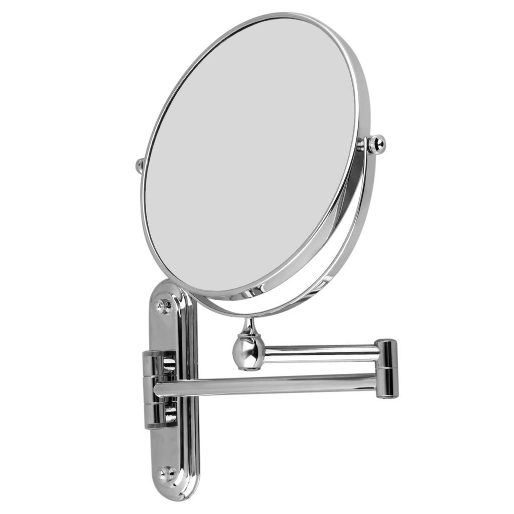 Excelvan Chrome Estensione 8 pollici a parete montato cosmetici da trucco specchio da barba specchio da bagno ingrandimento 7x wall mounted make up mirror shaving bathroom mirror 7 x Magnification WmicroIT VBPUKAIHMAZA2134
