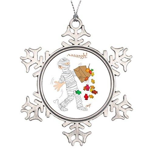 KimPark Tree Branch Decoration Cartoon (Silly Snowman Christmas Costume)