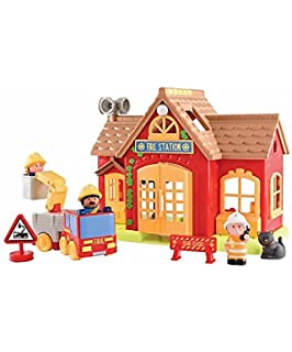 Elc Happyland Bumper Village Set Rrp 100 Amazon Co Uk Toys Games