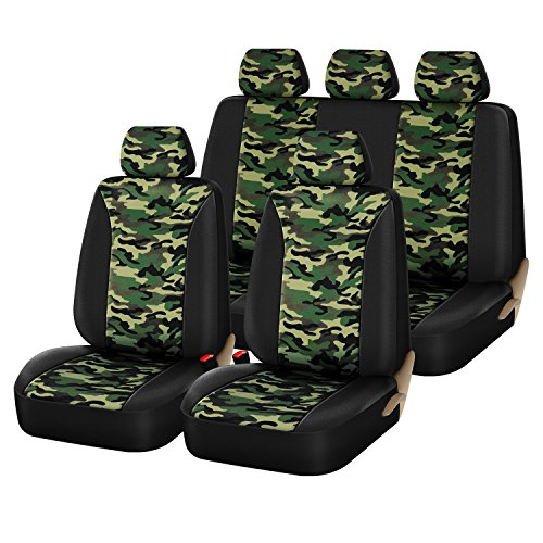 camo seat cover toyota truck - 7