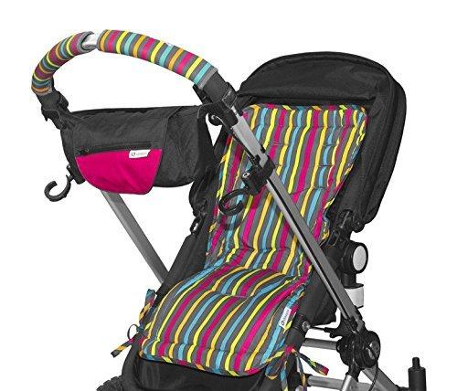 Amazon.com: Cochecito Ganchos - 2 Paquete multiusos Perchas de gancho para el bebé bolsas para pañales, Comestibles, ropa, monedero, etc.: Baby