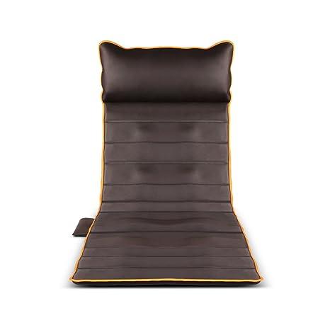 Zheng Hui Shop Cojines de masaje eléctricos Masajeador Cervical Atrás Matriz de Calentamiento Multifunción Manta de Calefacción Cojín de la Silla de ...