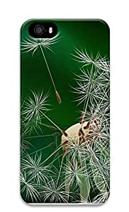 Case For Sam Sung Galaxy S5 Cover Half Dandelion Flower 3D Custom Case For Sam Sung Galaxy S5 Cover