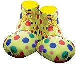 Yellow Clown Shoe Covers - Kids