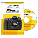 Nikon D300 Instructional DVD by QuickPro Camera Guides