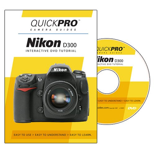 Nikon D300 Instructional DVD by QuickPro Camera ()