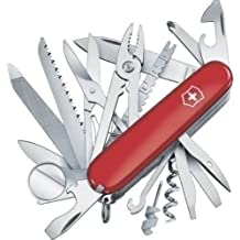 New Swiss Army 53501 Red Large Swiss Champ Victorinox Multi Tool Knife Sale