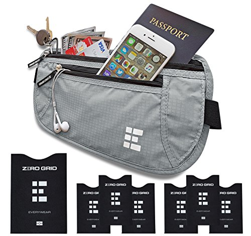 Zero Grid Money Belt Blocking product image
