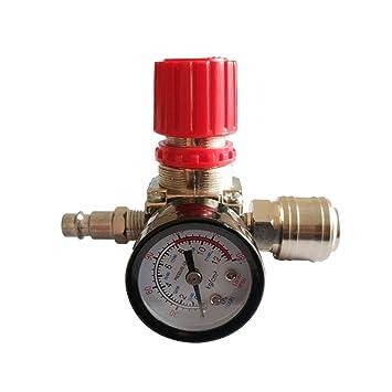 """1/4""""Regulador de presión neumático del compresor de aire Regulador de presión neumático"""
