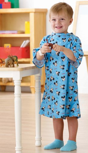 Disney Pediatric Iv Hospital Gowns (Toddler, Light Blue) by Disney