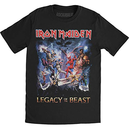 Iron Maiden Men's Legacy Of The Beast T-shirt Medium Black (Iron Maiden Legacy Of The Beast Redeem Code)