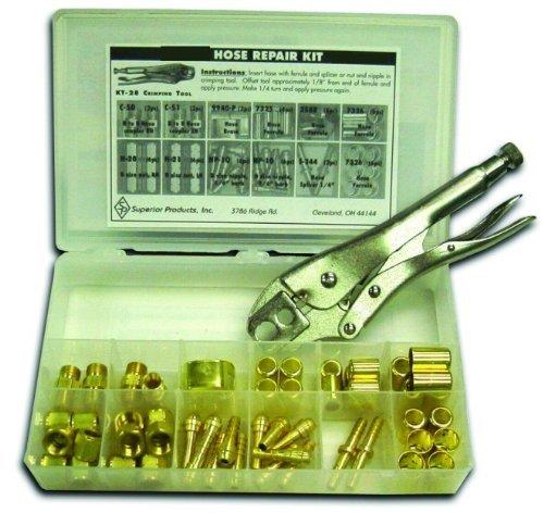 """Weldmark Hose Repair Kit, """"B"""" size 3/16"""" / 1/4"""" ID KT28 T..."""