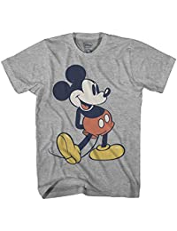 Giant Mickey Mouse Disneyland World Color Adult Mens Graphic T-Shirt …