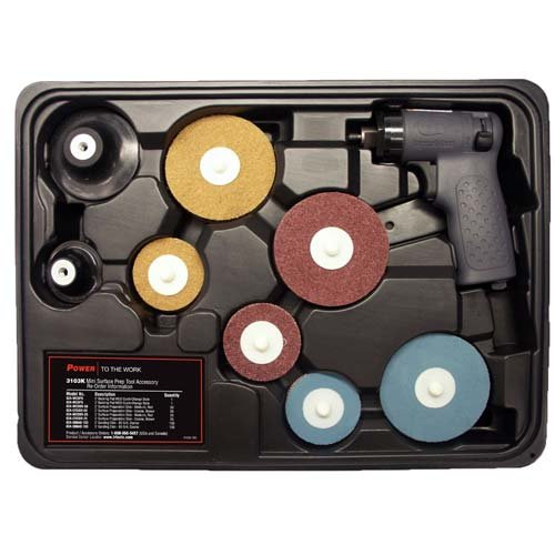 Ingersoll Rand Mini Surface Prep Grinder Kit, Model# (Surface Prep Pad Kit)