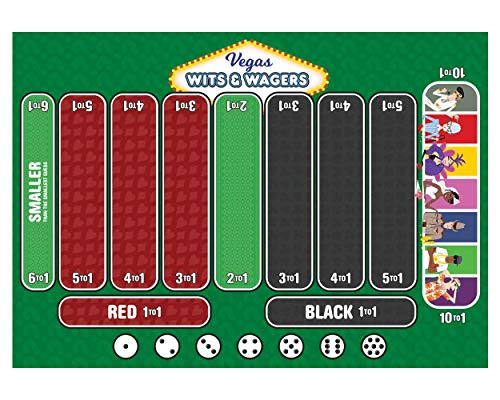 North Star Games Wits & Wagers: Vegas (Board Games Witz)