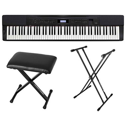 Casio PX350 BK 88 Key Digital Piano Black with Bench for sale  Delivered anywhere in USA