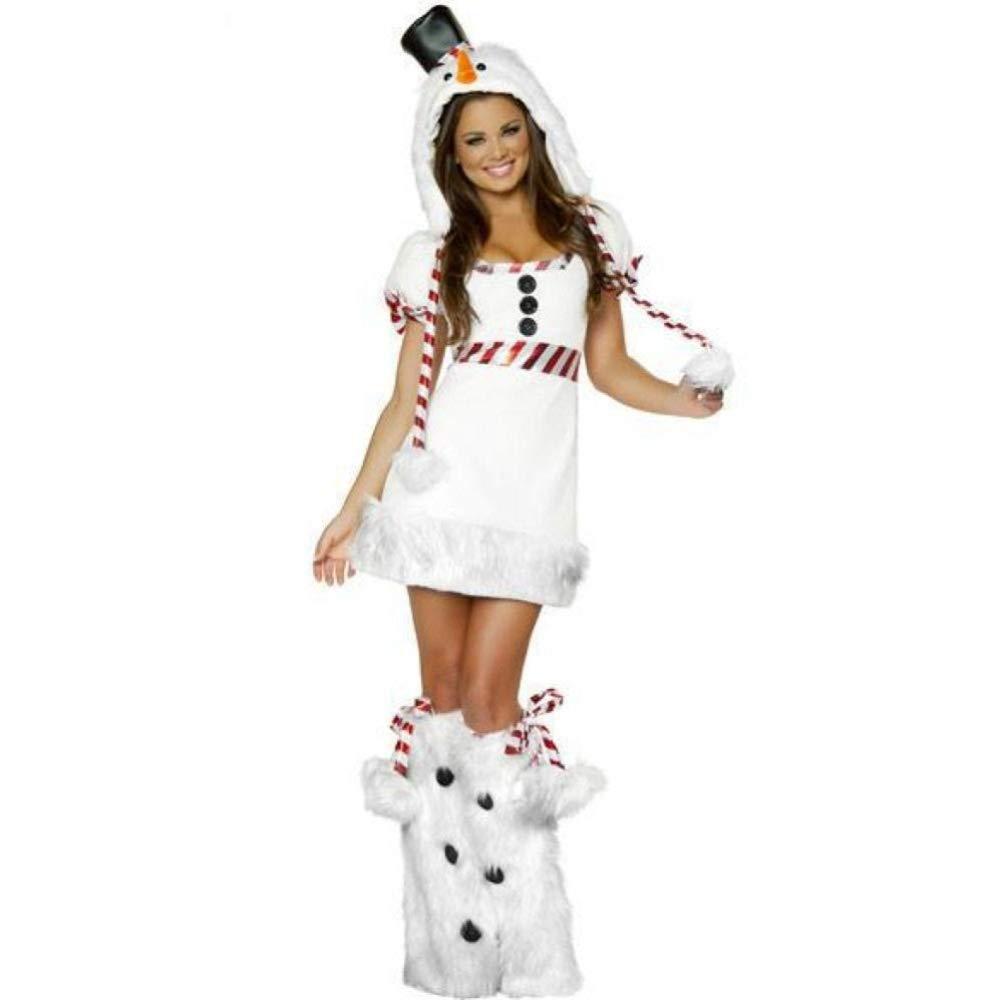 Ambiguity Natale Costume Bambini Costume Donna Natale Adulti Vestiti di Natale