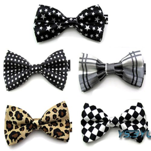 P&o Polyester Silk Bowtie Necktie Cravat for Men Fashionable