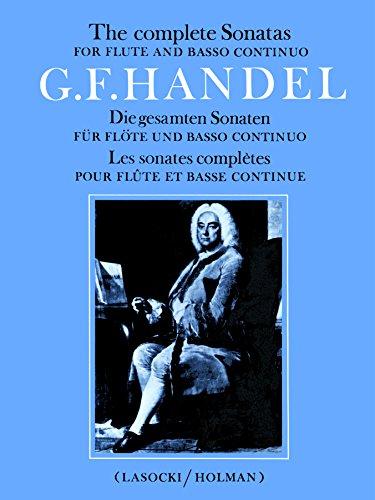 Complete Flute Sonatas: Part(s) (Faber Edition) ()