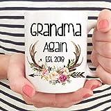15oz Personalized Mug Pregnancy Announcement Baby Reveal Mug Coffee Mug Established Mommy Daddy