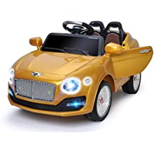 Costzon 6V Kids Ride On Car Electric Remote Control Battery Powered Ride-on Toy w/Door & MP3