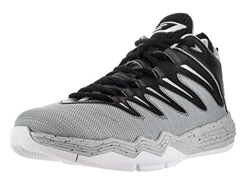 Jordan Nike Men's CP3.IX Blck/Mtllc Slvr/WLF Gry/PR PLT Basketball Shoe 9 Men US by NIKE