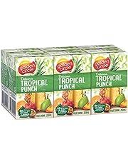Golden Circle Tropical Punch Fruit Drink, 6 x 250ml