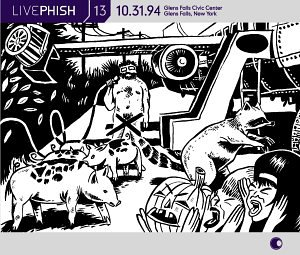 Live Phish Vol. 13: 10/31/94, Glens Falls Civic Center, Glens Falls, New York by Elektra / Wea